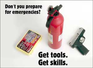 Be prepared for Emergencies